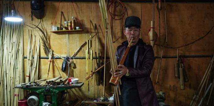 探访贵州丹寨苗族芒筒芦笙制作技艺