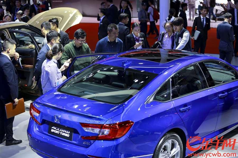 2018年11月17日,第十六届广州国际汽车展览会专业观众日在琶洲展馆
