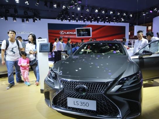 第十六届广州国际汽车展览会在琶洲会展中心开幕