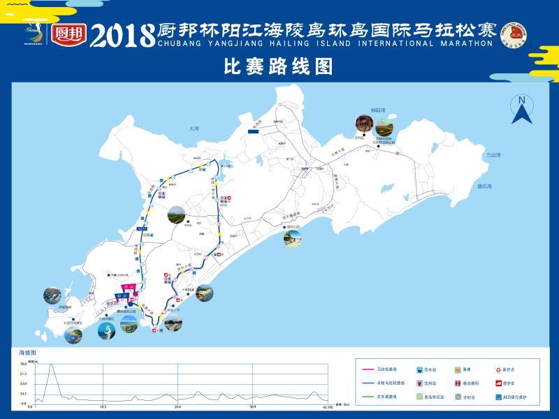 2018阳江海陵岛环岛国际马拉松赛12月2日开跑