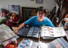90后收藏家 用十万张车票讲述改革开放四十年北京公交故事