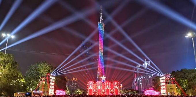 2018广州国际灯光节盛大开幕