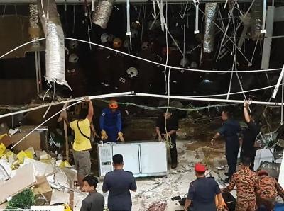 马来西亚商场爆炸致3死41伤 3名遇难者皆为华裔