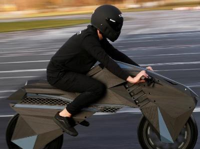 世界上第一台全3D打印摩托车诞生