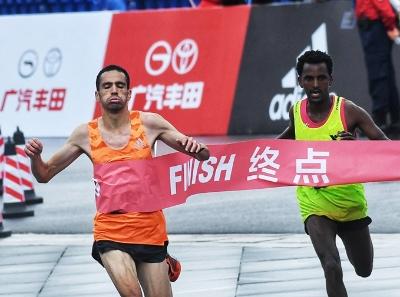 2018广马全程马拉松冠军产生