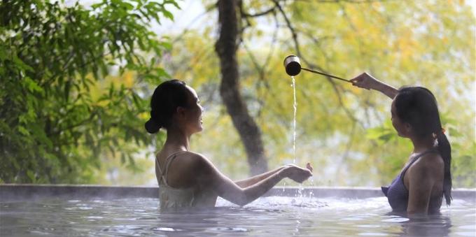 寒冬时节 乐享温泉
