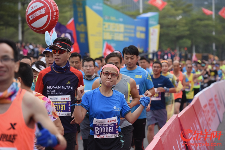 2018深圳国际马拉松今晨8时开赛