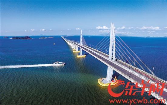 港珠澳大桥 一桥连起粤港澳为大湾区添翼