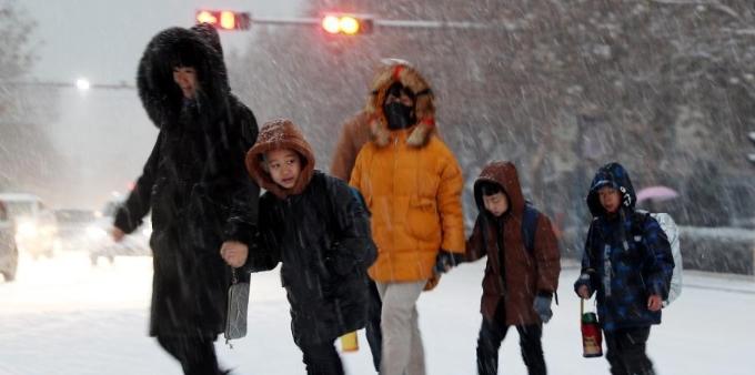冻手冻脚 全国多地气温将创今年入冬新低