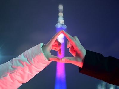 花城广场新年气氛