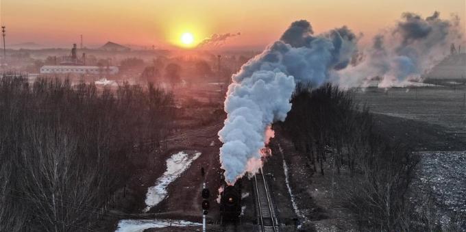 再现逝去的蒸汽时代