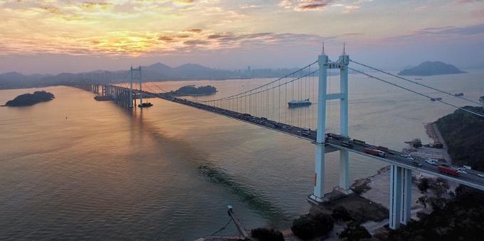 虎门大桥实施分流管控  节前高峰未现拥堵