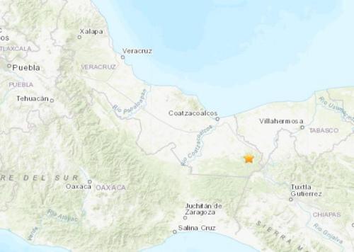 地摊卖什么赚钱:墨西哥南部地区发生5.4级地震 震源深度179.9公里
