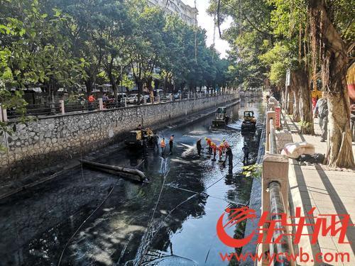 去年广州市东濠涌水质5个月均为II类标准