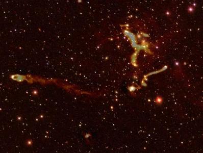 巴黎天文台射电望远镜发现数十万个未知星系