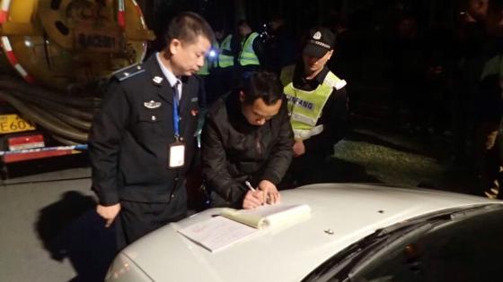 广州海珠多部门联合打击非法偷排行为