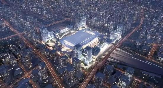 可伸缩的车站,会呼吸的广场,广州白云火车站站场设计