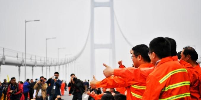 南沙大桥(虎门二桥项目)正式通车