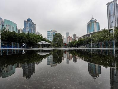 雨后的广州,美到世界颠倒