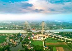 世界最大跨度无砟轨道高速铁路桥梁—— 商合杭铁路裕溪河特大桥顺利合龙