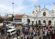 斯里兰卡爆炸案中2名中国人遇难 救援工作持续进行中