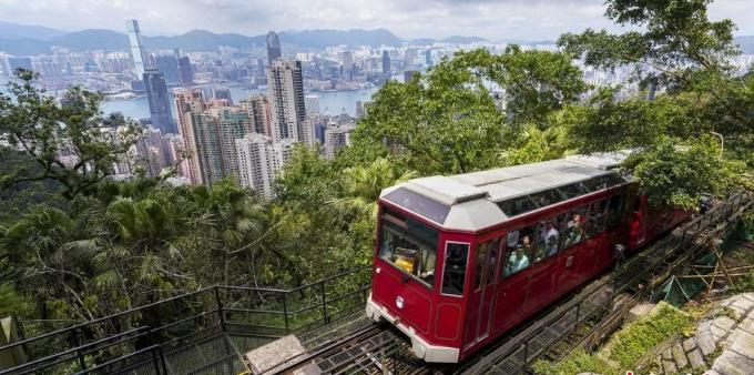 香港山顶缆车将升级改造 23日起暂停服务