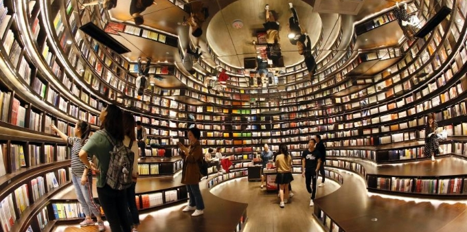 杭州最美书店可免费借书 市民尽享阅读快乐