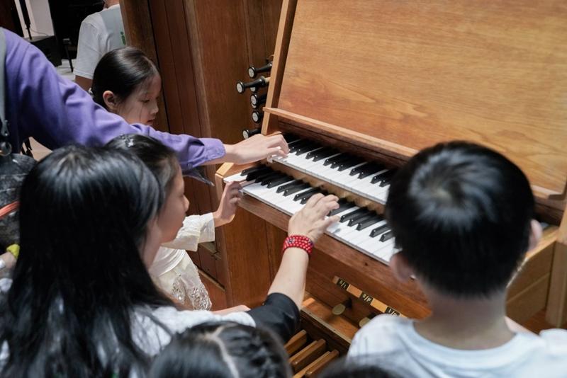 5月11日,来星海音乐厅会员公益日 感受管风琴的震撼并为公益助力