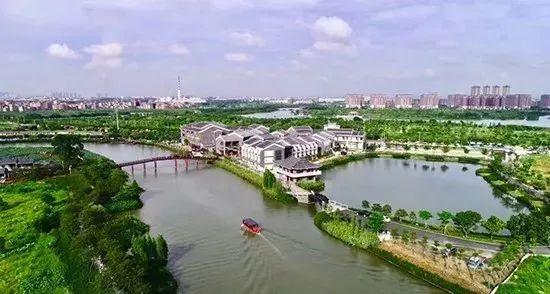 美丽岭南小镇风景图片