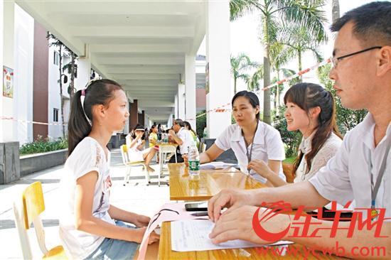 东莞明确义务教育学校 一律不得面试面谈选择生