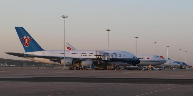北京大兴国际机场今日试飞 4架飞机参与真机试飞