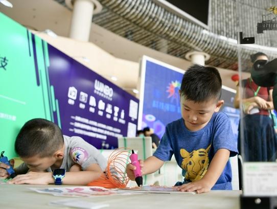 2019年广州科技活动周开幕 高科技产品吸睛