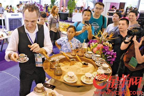 连续一周舌尖约会 亚洲各国在广州用美食对话 约会几次