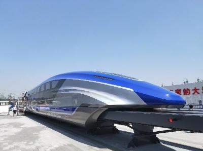 快看,我国时速600公里高速磁浮试验样车长这样!
