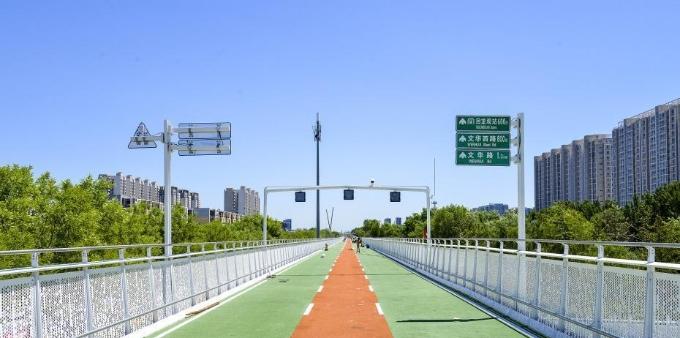 北京首条自行车高速本周开通 全长6.5公里