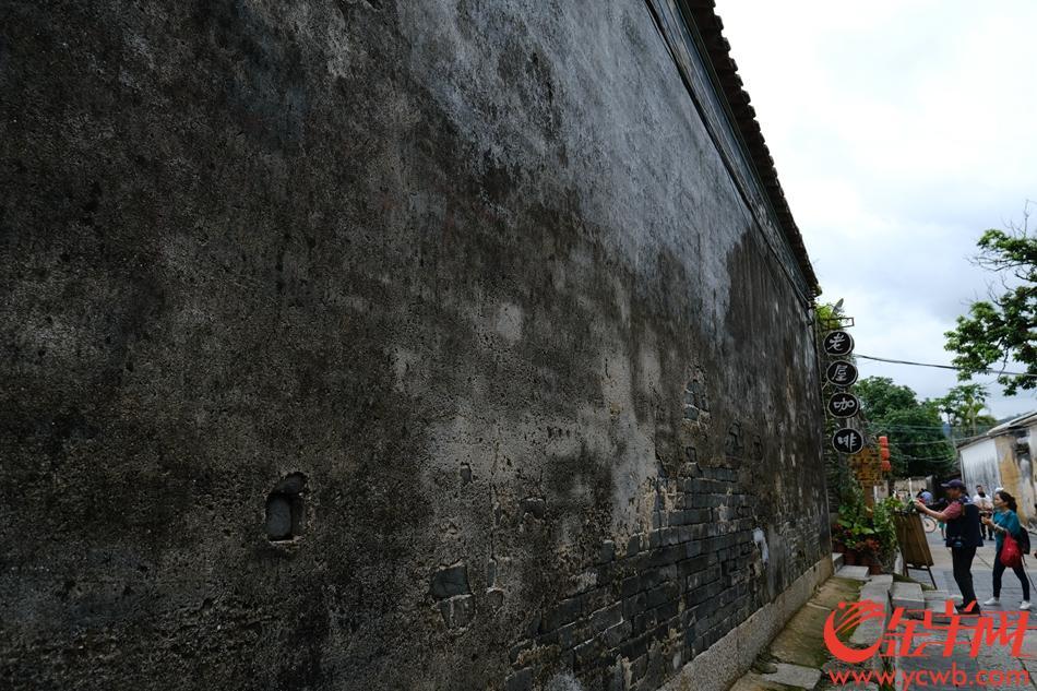 珠海会同古村幽静的小巷