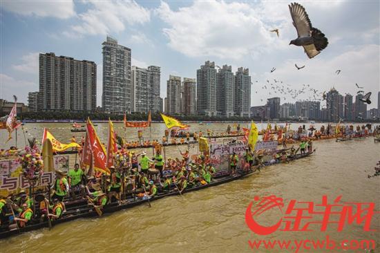 五洲百舸汇花城 广州国际龙舟邀请赛圆满落幕
