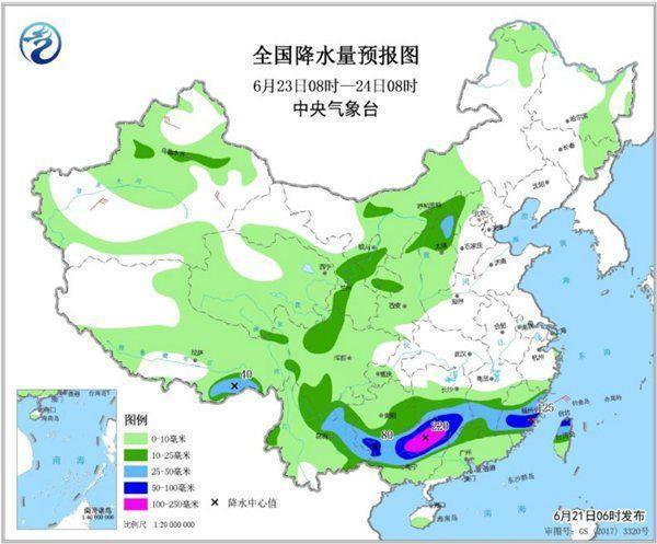 南方暴雨还将持续一周 华北黄淮高温依旧