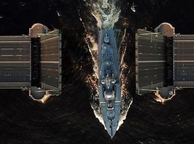 俄罗斯海军日阅兵彩排有序进行
