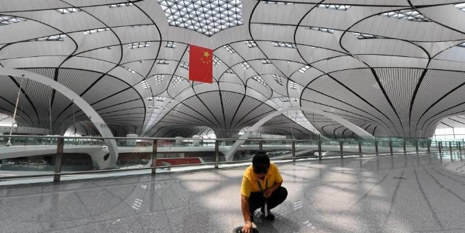北京大兴国际机场通航倒计时