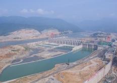 探訪廣西大藤峽水利樞紐工程:人字閘門世界最高
