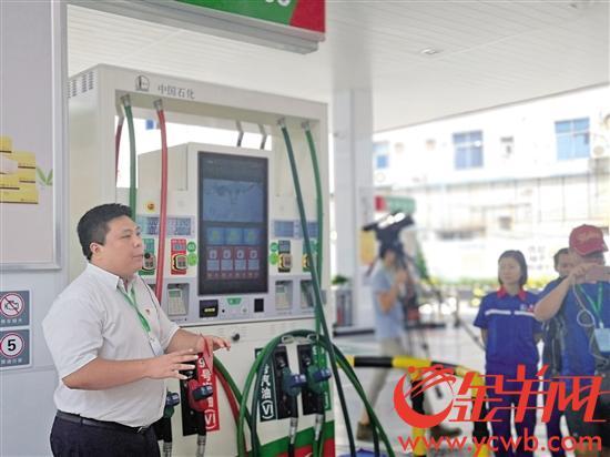 探秘全智能化加油站:司机不用下车就能完成支付