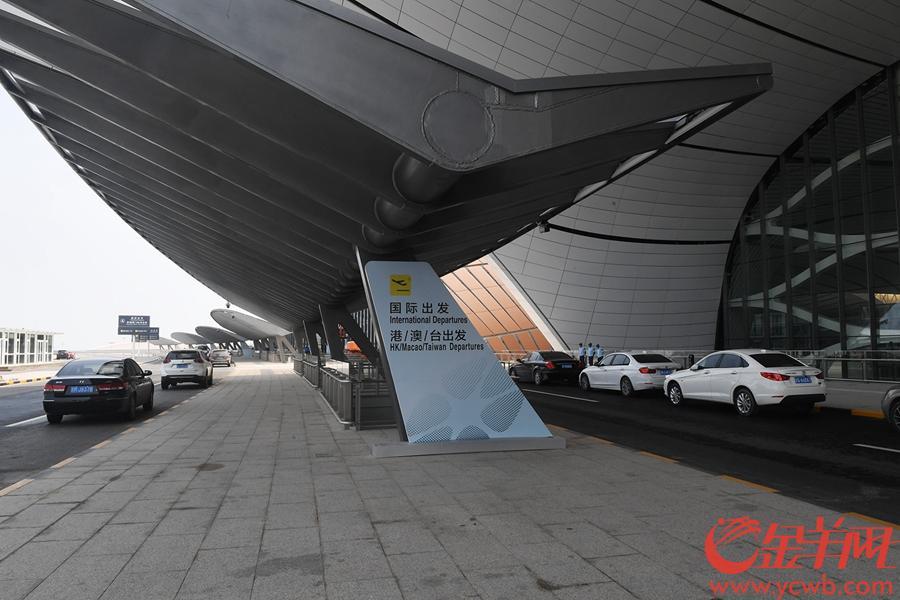 2019年9月4日,北京大兴机场航站楼 金羊网记者 林桂炎 摄