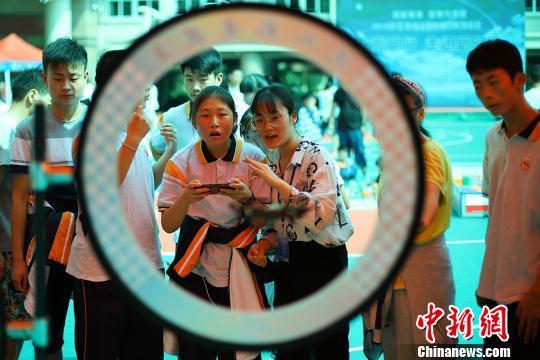 爱心科普走进南京聋人学校传播科学