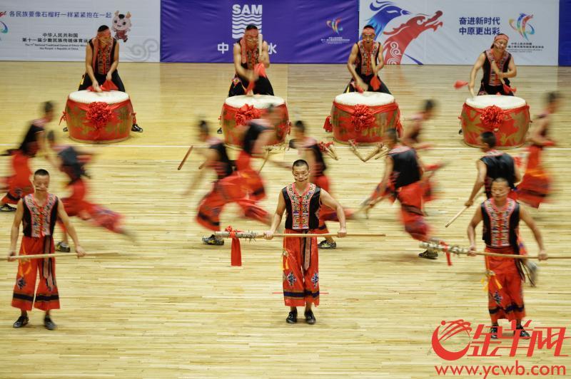 民运会表演项目混剪:看颜值技术并存的他们舞动赛场!