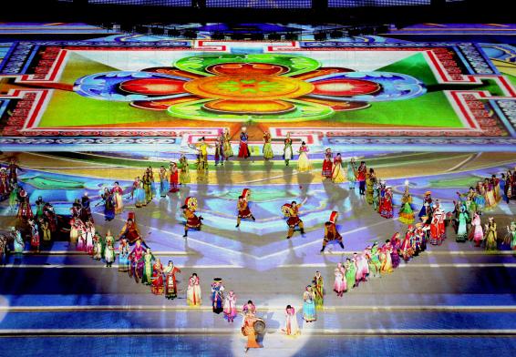 全国民运会闭幕 广东获12个一等奖共65枚奖牌