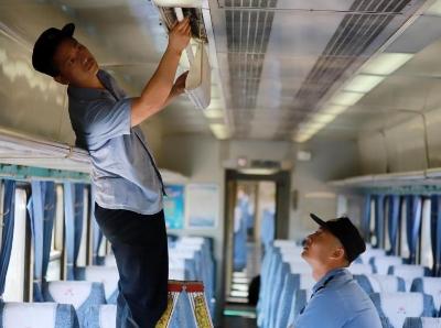 南昌车辆段开展动客车秋季整修确保安全
