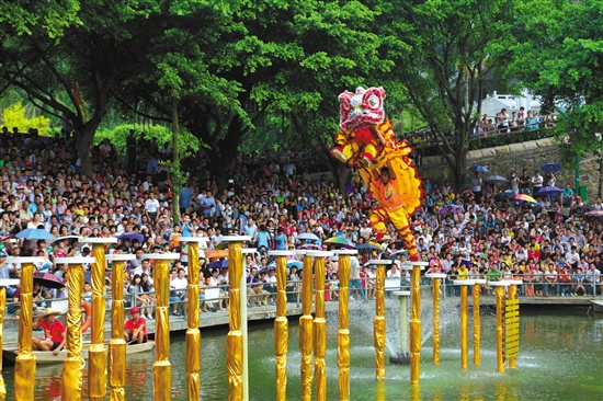 西樵山:打造红色文化旅游线路