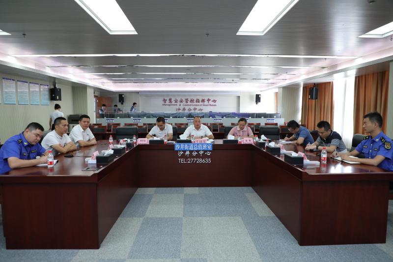 深圳宝安区沙井街道市容整治行动取得明显成效
