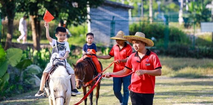 廣州增城區鄉村遊